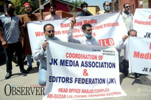 Journalists Protest Against New Media Policy, Demand Its Rollback