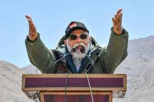 PM Modi Attacks 'Expansionist' China from Ladakh