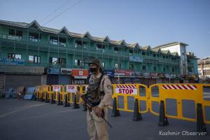 Lockdown Re-imposed in Srinagar After Spike in Covid Cases