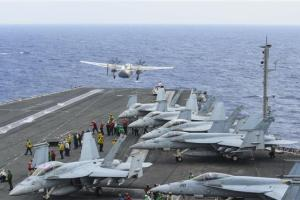 US Sends Aircraft Carriers To South China Sea For Exercises