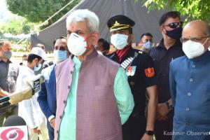Dialogue Soon, Says Manoj Sinha After Taking Oath As J&K LG