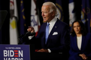 Trump Has Left US 'In Tatters', Biden And Harris Say