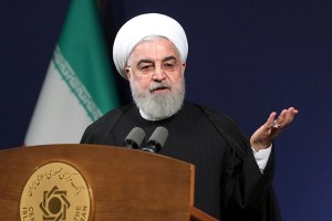 Iran's Rouhani Hails Departure Of 'Tyrant' Trump