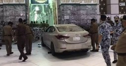 Watch: Man Crashes Car Into Gate Of Makkah's Grand Mosque