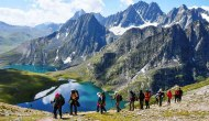 Kashmir Witnessing Growing Trekking Footfall In Fall