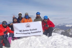 All J&K Mountaineering Foundation Holds Expedition To Mt. Mahadev