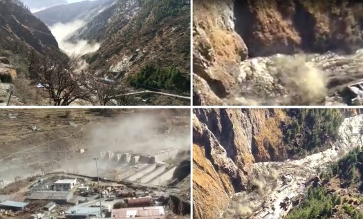 Massive Flood As Glacier Breaks Off In Uttarakhand,150 ...