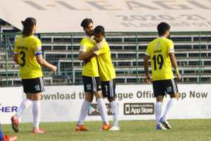Real Kashmir Defeat Indian Arrows 6-0, Go 2nd In I-League Table