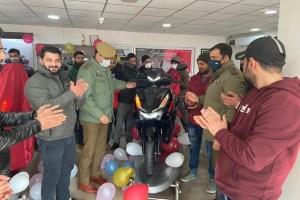 Honda Launches New Grazia Sports Edition in Srinagar