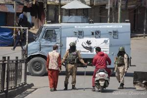 Curbs In Kashmir To Stop Virus