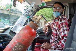 Kashmiri Man's Oxygen Drive Becoming Hope In Despair