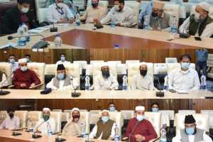 DC Srinagar Urges Religious Leaders To Influence People On Vaccination