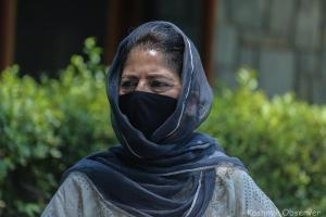 PDP Only Party in Kashmir Resisting GoI: Mehbooba