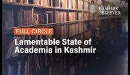 Lamentable State of Academia in Kashmir
