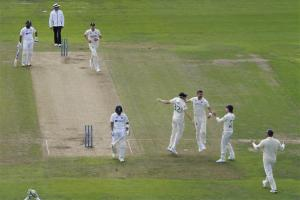 Third Test: India Bundled Out For 78 On Day 1