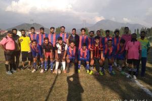 4 Matches Played In DFA Srinagar Football Leagues