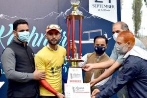 Parwez Wins Kashmir MTB Cycling Championship