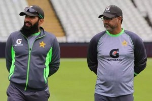 Misbah, Waqar Resign As Pakistan's Head Coach And Bowling Coach