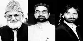 Joint Resistance Leadership - Kashmir