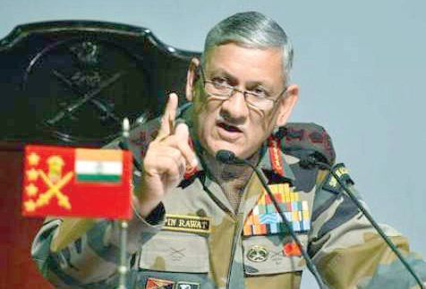 Gen Rawat warns Pak of misadventure, says will suffer 'heavy losses'