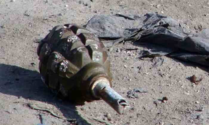 Live hand-grenade found in J-K's Samba, defused