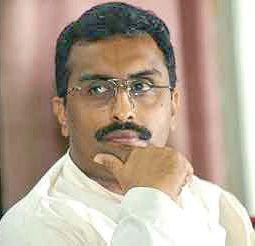 BDC Polls: Madhav arrives to hold worker convention in Srinagar
