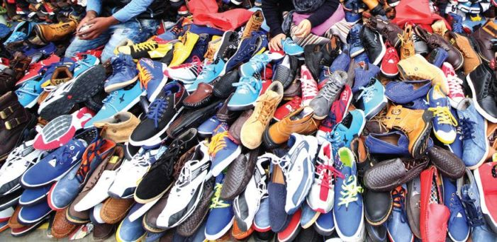 Huge rush for plastic shoes to counter winter, waterlogged roads