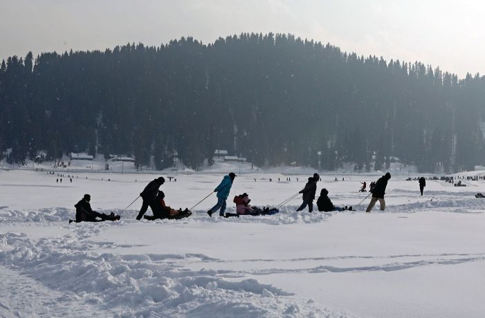 Snowscapes: The Ornaments of Kashmir