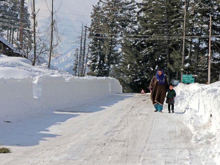 MeT predicts snow today; Day temperature to decrease, says Lotus