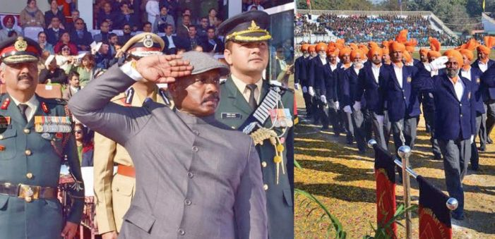 R-Day celebrations at Jammu amid tight security