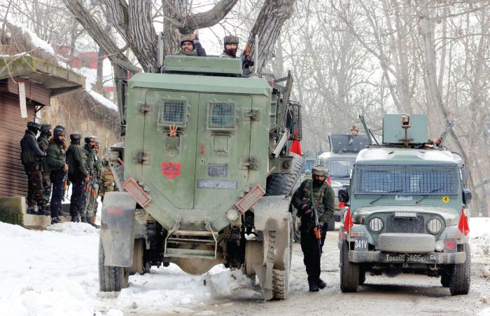 4 Hizb militants killed in Kulgam gunfight