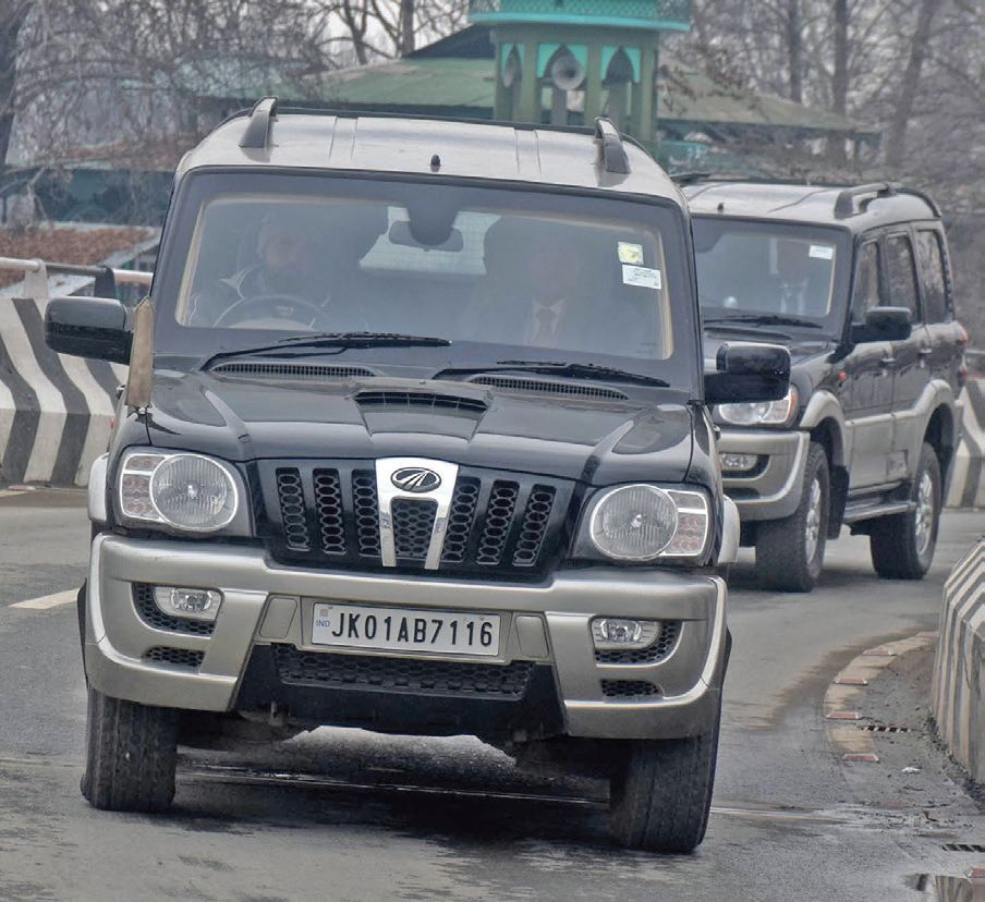 Foreign envoys delegation was in Srinagar