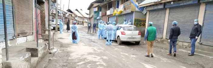 Eidgah, Lal Bazar sealed to prevent spread of infection