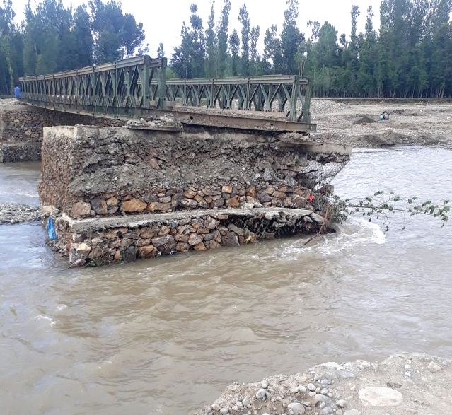 Sadoora Bridge in Anantnag yet to be rebuilt after 2014 floods