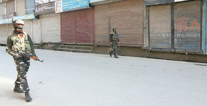 Govt orders lockdown in J&K till March 31