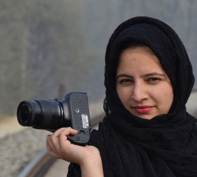 Woman photojournalist booked in Kashmir