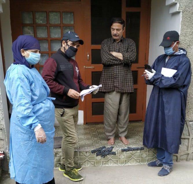 Door-to-door health survey starts in Srinagar