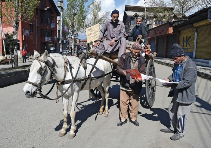 In Kashmir, Covid-19 brings 'order' in public distribution system