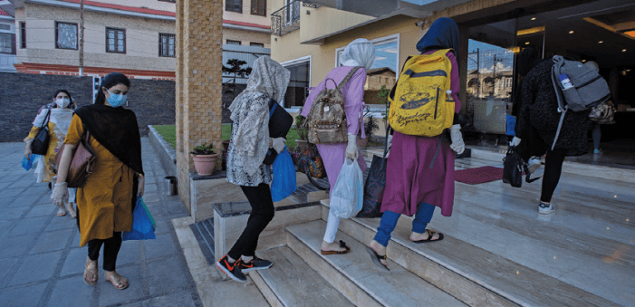 167 students arrive at Srinagar from Bangladesh