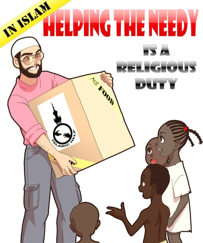 Helping the poor and needy is self-purification