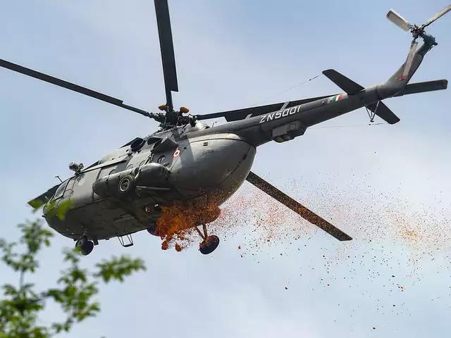 A salute to corona warriors: IAF jets shower petals on covid hospitals