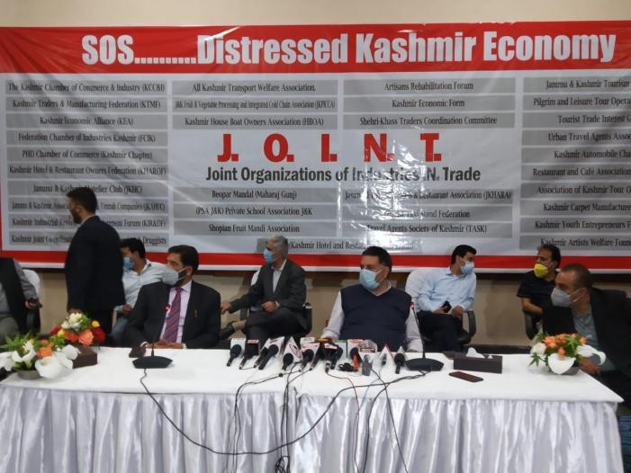 Kashmir saw 3000 days of lockdown: Trade bodies