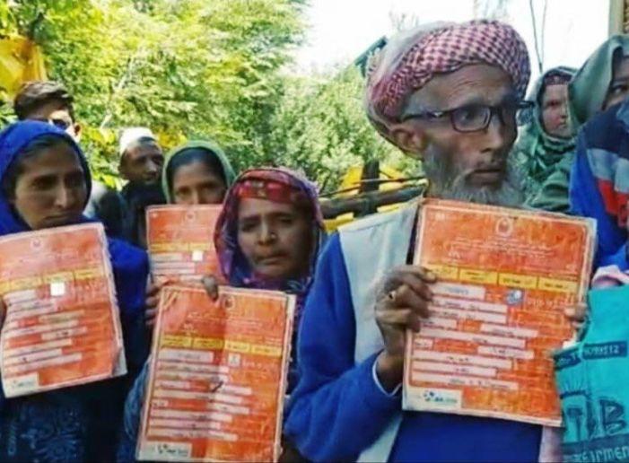 Shopian villagers seek verification into BPL, AAY ration card holders