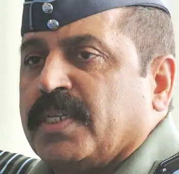 IAF chief pays quiet visit to Leh, Srinagar