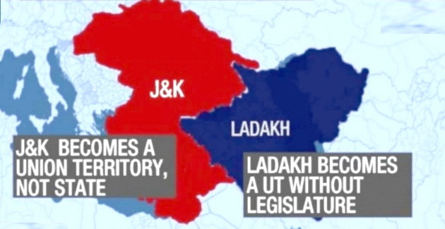 What has changed with J&K becoming Union Territory
