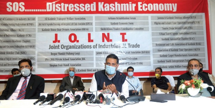 Kashmir trade bodies collectively appeal for govt help