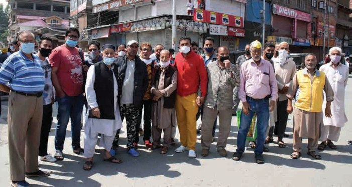 Srinagar markets to stay closed, DC meeting traders today