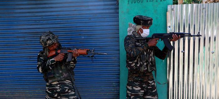 Two militants killed in Kulgam gunfight