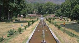 Gardens and parks were opened in Kashmir after almost four months on Wednesday