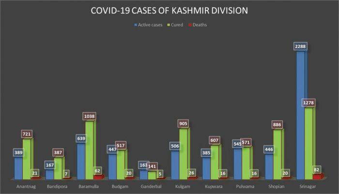 Covid death toll nearly 300